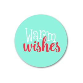 5 Stickers | warm wishes