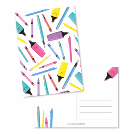 Kaart A6 | patroon stationery