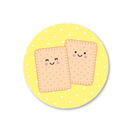 5 Stickers | koekjes