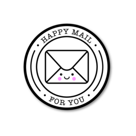 5 Stickers | happy mail for you
