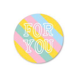 5 Stickers | for you