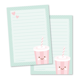 Notitieblok A6 | milkshake