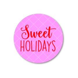 5 Stickers | sweet holidays