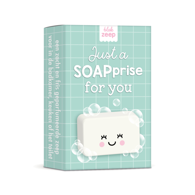 zeep  5 stuks | just a SOAPprise for you (mintgroen)
