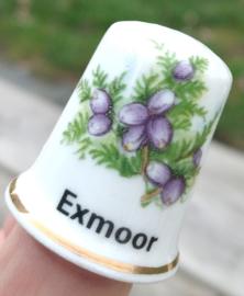 Vingerhoed - Bone China - Souvenir Exmoor