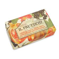 Nesti Dante  zeep 250 gr. - Il Frutteto - Granaatappel en zwarte bes