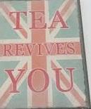 Koelkastmagneet Tea Revives You
