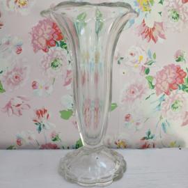 Geperst glas - Vaas