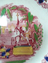 Societe ceramique Maestricht Orient bord 23 cm