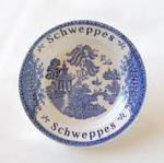 Wedgwood Schweppes Blue Willow Asbak