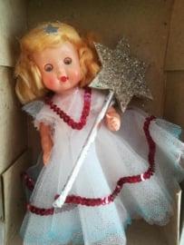 Schattige kerstengel - popje jaren 60