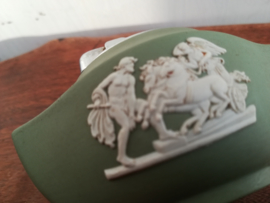 Wedgwood -  Jasperware - Green - Aansteker