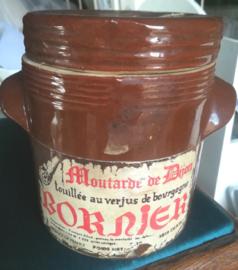 Mosterd pot  Bornier