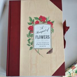 Victorian Floral Photograph Album
