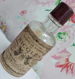 Flesje alcool de menthe dop bakeliet