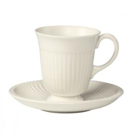 Wedgwood Edme koffiekop en schotel 8 cm.