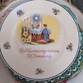 Societe Ceramique Bord Eerste Heilige Communie