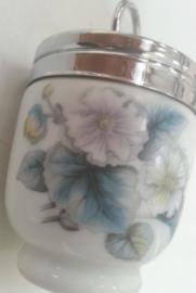 Egg Coddler - Blauwe bloemen