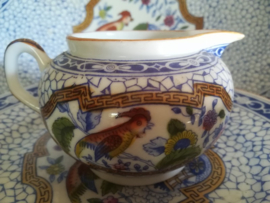 Societe ceramique Maestricht Melkkan Paradijsvogel decor 601