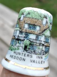 Vingerhoed - Bone China - Souvenir - Heddon Valley
