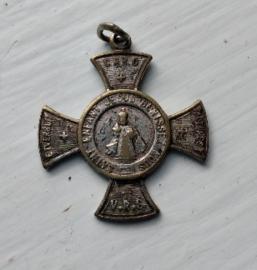 Medaille - Heilige Kindje van Praag - verzilverd