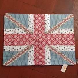 Kussensloop katoen 35cm*50cm. Engelse vlag