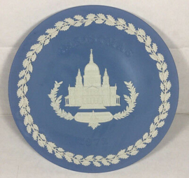 Wedgwood Jasper Blue Winchester Cathedral