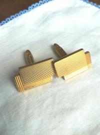 Manchetknopen goudkleurig