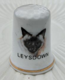 Vingerhoed - Bone China - Souvenir - Leysdowno
