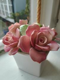Royal Doulton - Flower Arrangement - Rozen Bloemstuk - Porselein