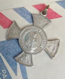Medaille - Heilige Kindje van Praag - aliminium