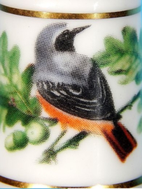 Vingerhoed - Franklin Mint - Tuinvogels - Gekraagde Roodstaart