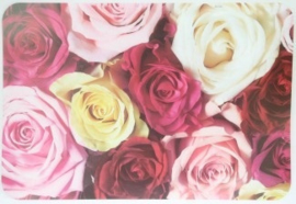 Placemat Roses