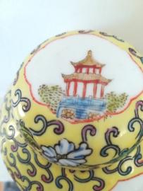 Gemberpot met landschap - Made In China
