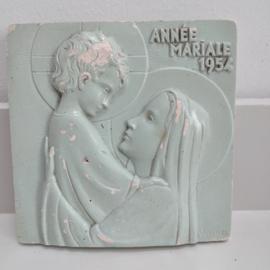 Vinho Tegel gips Maria Annee Mariale 1954