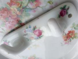 Limoges handdoekhaakjes porselein