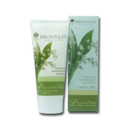 Bronnley Handcrème Lily of the Valley 100 ml.
