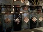 Kleine Brocante inkt/verf flesjes  prijs per stuk