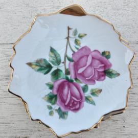 Wawel -  schaaltje bladvorm 10 cm.