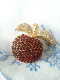 Broche 5 cm appel.