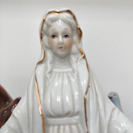 Maria porselein hoogte 16 cm
