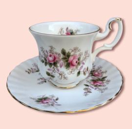 Royal Albert  - Lavender Rose- Espresso kop en schotel