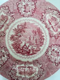 Societe ceramique  Oriental bord 26 cm