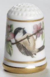 Vingerhoed - Franklin Mint - Tuinvogels - Epaulte spreeuw