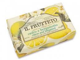 Nesti Dante  zeep 250 gr. - Il Frutteto - Citroen en Bergamot