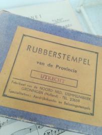 Schoolstempel provincie Utrecht