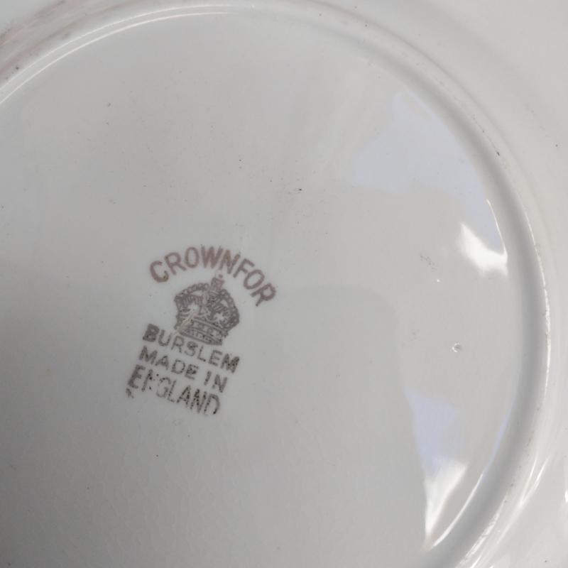 Burslem -Bone China - Gebaks bordje