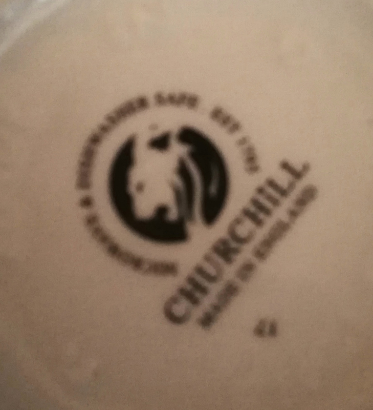 Churchill Blue Willow Melkkan