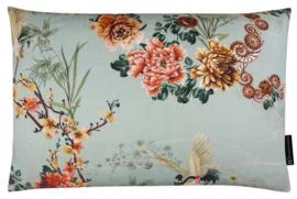 294 Pillow Bird Flower Lin 60x40