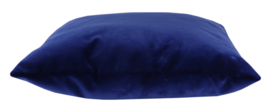 034 Kussen Velvet Night Blue 5560 45x45